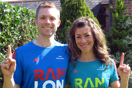 London Marathon #oneinamillion Campaign